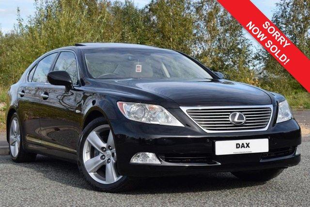 2007 07 LEXUS LS 4.6 460 SE-L 4d AUTO 376 BHP