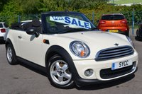 2011 MINI CONVERTIBLE 1.6 ONE 2d 98 BHP CONVERTIBLE ~ SALT PACK ~ CLIMATE £4999.00