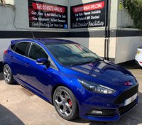 USED 2015 65 FORD FOCUS ST-3 2.0 TDCI 5DR 185 BHP, SAT NAV, ONLY £20 ROAD TAX. SYNC 2 NAVIGATION, DAB RADIO WITH BLUETOOTH/USB