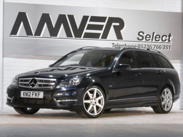 2012 12 MERCEDES-BENZ C CLASS 2.1 C250 CDI BLUEEFFICIENCY SPORT 5d AUTO 202 BHP