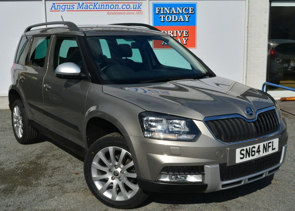 USED 2014 64 SKODA YETI 1.2 OUTDOOR SE TSI DSG 5d Family MPV AUTO with Fantastic Low Mileage Recent Service plus MOT and Ready to Drive Away Today GOOD SERVICE HISTORY