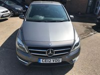 USED 2012 12 MERCEDES-BENZ B CLASS 1.8 B180 CDI BLUEEFFICIENCY SPORT 5d AUTO 109 BHP