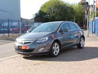 USED 2012 12 VAUXHALL ASTRA 1.4 SRI 5d  CRUISE CONTROL ~ AIR CON ~ ALLOYS ~ SERVICE HISTORY ~
