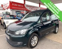 USED 2013 62 VOLKSWAGEN CADDY 1.6 C20 LIFE TDI 5d 101 BHP WHEELCHAIR RAMP CONVERSION