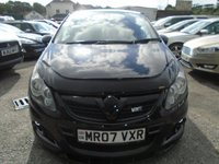 USED 2007 07 VAUXHALL CORSA 1.6 VXR 3d 232 BHP FULL HISTORY+GREAT CONDITION