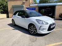 2015 CITROEN DS3 1.6 E-HDI DSTYLE PLUS 3d ONLY 39K, 3 SERVICES, BLUETOOTH FREE TAX £6990.00