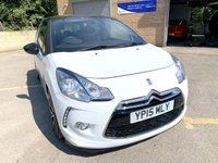 USED 2015 15 CITROEN DS3 1.6 E-HDI DSTYLE PLUS 3d ONLY 39K, 3 SERVICES, BLUETOOTH FREE TAX FREE TAX, ONLY 1 FORMER KEEPER, 39K 3 SERVICES, 2 KEYS