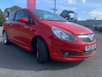 USED 2010 02 VAUXHALL CORSA 1.4 SRI 3d 98 BHP Full History Great Condition