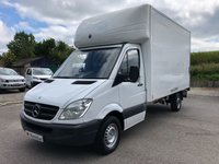 USED 2013 63 MERCEDES-BENZ SPRINTER 313 CDI 13ft 6 LUTON TAIL LIFT 130PS *SIX MONTHS AA WARRANTY*