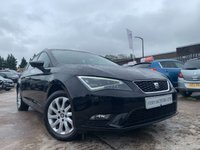 USED 2015 65 SEAT LEON 1.2 TSI SE TECHNOLOGY 5d 110 BHP 2KEYS+ALLOYS+30 ROAD TAX+PARK+ELECS+SATNAV+AIRCON+CLEAN CAR+AUX+