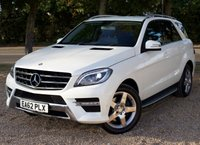 "USED 2012 62 MERCEDES-BENZ M CLASS 2.1 ML250 BLUETEC SPORT 5d AUTO 204 BHP/ SAT NAV/ HEATED SEATS STUNNING LOOKING & HIGH SPEC MERCEDES ML250 2.1L B/TEC SPORT TIP AUTOMATIC/ COMES WITH SAT NAV/ REVERSING CAMERA/ LEATHER HEATED SEATS/ CRUISE CONTROL/ PARKING SENSORS/ XENONS/ BLUETOOTH/ WITH FULL MERCEDES-BENZ SERVICE HISTORY/ NEW SERVICE/ 1 YEAR NEW MOT/ ROAD TAX £200,- ANNUAL/ WARRANTY/ 2 OWNERS/ 2 KEYS/ HPI CLEARED/   BOOK A TEST DRIVE TODAY! / APPLY FOR A CAR FINANCE ON OUR WEBSITE PAGE ""FINANCE""."