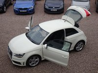 USED 2011 11 AUDI A1 1.4 TFSI S LINE 3d 122 BHP BLUETOOTH, HALF LEATHER, JUST SERVICED, HPI CLEAR