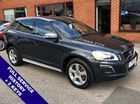 USED 2013 13 VOLVO XC60 2.4 D5 R-DESIGN AWD 5DOOR 212 BHP Satellite Navigation   :   USB & AUX   :   Cruise Control   :   Phone Bluetooth Connectivity     Climate Control / Air Conditioning   :   Heated Front Seats   :   Electric Driver Seat      Automatic Tailgate   :   Front & Rear Parking Sensors   :   Full Service History