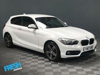 2017 BMW 1 SERIES 2.0 118D SPORT 3d AUTO  £15500.00