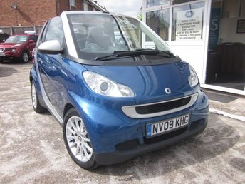 2009 SMART FORTWO CABRIO 0.8 PASSION CDI 2d AUTO 45 BHP £2995.00