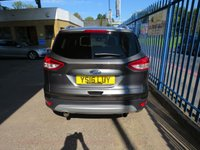 USED 2016 16 FORD KUGA 2.0 TITANIUM TDCI 5dr Auto Sat nav 1/2 Leather Privacy Automatic Diesel 4WD with SatNav