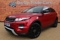 2011 LAND ROVER RANGE ROVER EVOQUE 2.2 SD4 DYNAMIC 3d 190 BHP £12000.00