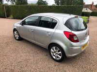 USED 2009 59 VAUXHALL CORSA 1.4 DESIGN 16V TWINPORT 5d 90 BHP Very well looked after car inside and out.