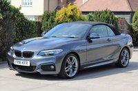 USED 2016 16 BMW 2 SERIES 2.0 218D M SPORT 2d 148 BHP SAT NAV BLACK HEATED LEATHER SEATS