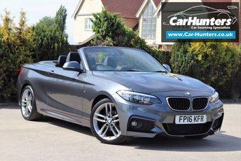 2016 BMW 2 SERIES 2.0 218D M SPORT 2d 148 BHP £14295.00