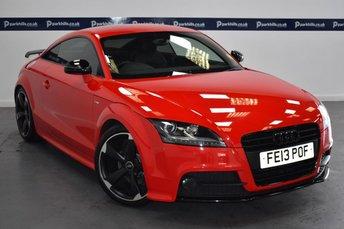 2013 AUDI TT 2.0 TFSI BLACK EDITION 2d 210 BHP £12430.00