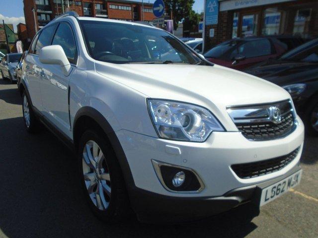 2012 62 VAUXHALL ANTARA 2.2 SE NAV CDTI 4WD 5d AUTO 161 BHP