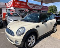 2009 MINI HATCH COOPER 1.6 COOPER 3d 118 BHP  £3695.00