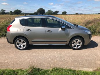 2011 PEUGEOT 3008 1.6 EXCLUSIVE HDI 5d 112 BHP £5499.00