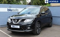 USED 2015 65 NISSAN X-TRAIL 1.6 DCI TEKNA 5d 130 BHP 2 owners, Full Nissan Service History, 55.4 Average MPG, 7 Seats, Full Leather Interior, Heated Front Seats, Dual Climate Control, Powered Tailgate, Automatic Lights/Wipers, Cruise Control, 360 Parking Cameras, Front/Rear Parking Sensors, Satellite Navigation, USB/Bluetooth/Aux Connectivity.