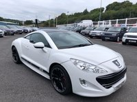 USED 2012 12 PEUGEOT RCZ 2.0 HDI GT 2d 163 BHP Metallic White, Extended Black leather, 19 inch alloys +