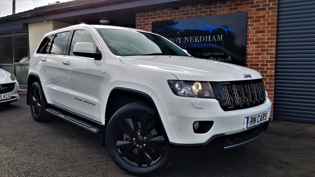 USED 2013 13 JEEP GRAND CHEROKEE 3.0 V6 CRD S-LIMITED 5DR AUTO 237 BHP ***GREAT SPEC - S LIMITED MODEL - FULL HISTORY***