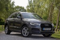 USED 2017 17 AUDI Q3 2.0 TDI S LINE EDITION 5d 148 BHP £0 DEPOSIT BUY NOW PAY LATER - NEW MOT - NAVIGATION