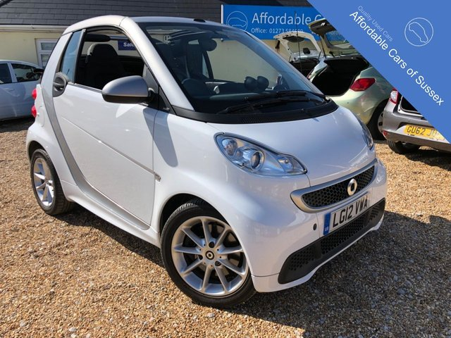 2012 12 SMART FORTWO CABRIO 1.0 PASSION MHD 2d AUTOMATIC