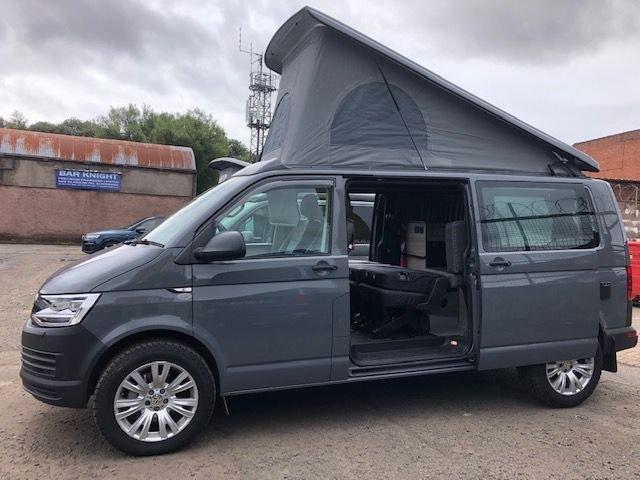2019 VOLKSWAGEN T6 CAMPERVAN BRAND NEW 4 BERTH CAMPER CONVERSION 2.0 T32 TDI W/V BMT 1d AUTO 204 BHP