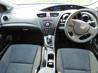 USED 2013 13 HONDA CIVIC 1.8 I-VTEC TI 5d 140 BHP FULL HONDA SERVICE HISTORY (6 STAMPS) IN PEARL WHITE