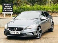 2018 VOLVO V40 2.0 D2 R-DESIGN PRO 5d AUTO 118 BHP £14495.00
