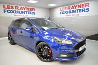 USED 2017 66 FORD FOCUS 2.0 ST-3 5d 247 BHP Full Leather, Reverse Camera, 19in alloys, Cruise control