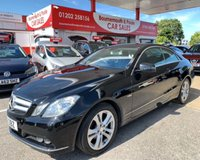 2011 MERCEDES-BENZ E CLASS 2.1 E220 CDI BLUEEFFICIENCY SE EDITION 125 2d 170 BHP £7495.00