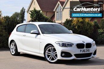 2016 BMW 1 SERIES 1.5 118I M SPORT 3d 134 BHP £13495.00