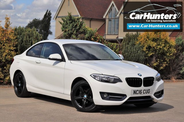 2016 16 BMW 2 SERIES 2.0 218D SPORT 2d 148 BHP