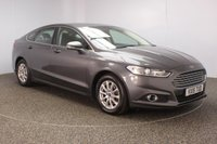 USED 2015 15 FORD MONDEO 2.0 ZETEC ECONETIC TDCI 5DR 1 OWNER 148 BHP SERVICE HISTORY + PARKING SENSOR + BLUETOOTH + CRUISE CONTROL + CLIMATE CONTROL + DAB RADIO + ELECTRIC WINDOWS + ELECTRIC MIRRORS + 16 INCH ALLOY WHEELS