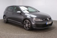 USED 2015 15 VOLKSWAGEN GOLF 2.0 GTD 5DR SAT NAV 1 OWNER 181 BHP SERVICE HISTORY + SATELLITE NAVIGATION + PARKING SENSOR + BLUETOOTH + CRUISE CONTROL + CLIMATE CONTROL + MULTI FUNCTION WHEEL + XENON HEADLIGHTS + PRIVACY GLASS + DAB RADIO + ELECTRIC WINDOWS + ELECTRIC MIRRORS + ALLOY WHEELS