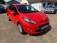 USED 2011 61 FORD FIESTA 1.4 EDGE 3d AUTO 96 BHP ONE YEAR WARRANTY INCLUDED / FULL HISTORY WITH 10 STAMPS IN THE BOOK