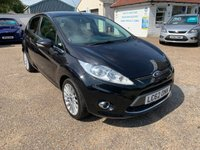 USED 2012 62 FORD FIESTA 1.4 TITANIUM TDCI 5d 69 BHP ONE YEAR WARRANTY INCLUDED / VOICE COMMS / USB / BLUETOOTH / CRUISE CONTROL