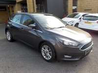 USED 2016 16 FORD FOCUS 1.5 ZETEC TDCI 5d 118 BHP