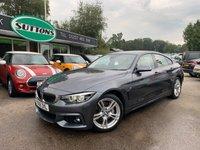 2018 BMW 4 SERIES 3.0 440I M SPORT GRAN COUPE 4d AUTO 322 BHP £29989.00