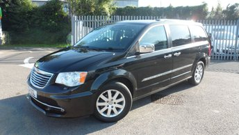 2014 CHRYSLER GRAND VOYAGER 2.8 CRD LIMITED 5d AUTO 178 BHP £16995.00