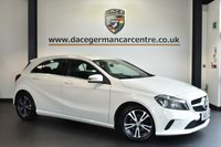 """USED 2016 16 MERCEDES-BENZ A CLASS 1.5 A 180 D SE EXECUTIVE 5DR 107 BHP full mercedes service history  Finished in a stunning calcite white styled with 16""""alloys. Upon opening the drivers door you are presented with full heated leather interior, full mercedes service history, satellite navigation, bluetooth, rear-view camera, attention assist, style package, active park assist"""