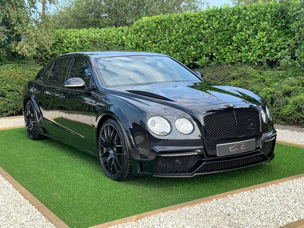 USED 2014 63 BENTLEY FLYING SPUR 6.0 W12 4d AUTO 616 BHP VAT QUALIFYING FULL FACTORY ONYX GTX 700- 4 CONVERSION ONE OWNER LUXURIOUSLY APPOINTED THROUGHOUT WITH A FULL MULLINER DRIVING PACKAGE TO FURTHER COMPLIMENT THIS IMPRESSIVE CONVERSION