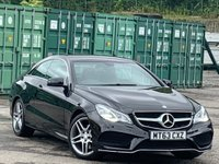 USED 2013 63 MERCEDES-BENZ E CLASS 2.1 E220 CDI AMG Sport 7G-Tronic Plus 2dr ParkAssist/HeatedSeats/Nav